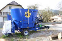 Mobilní kompostárna MK 7