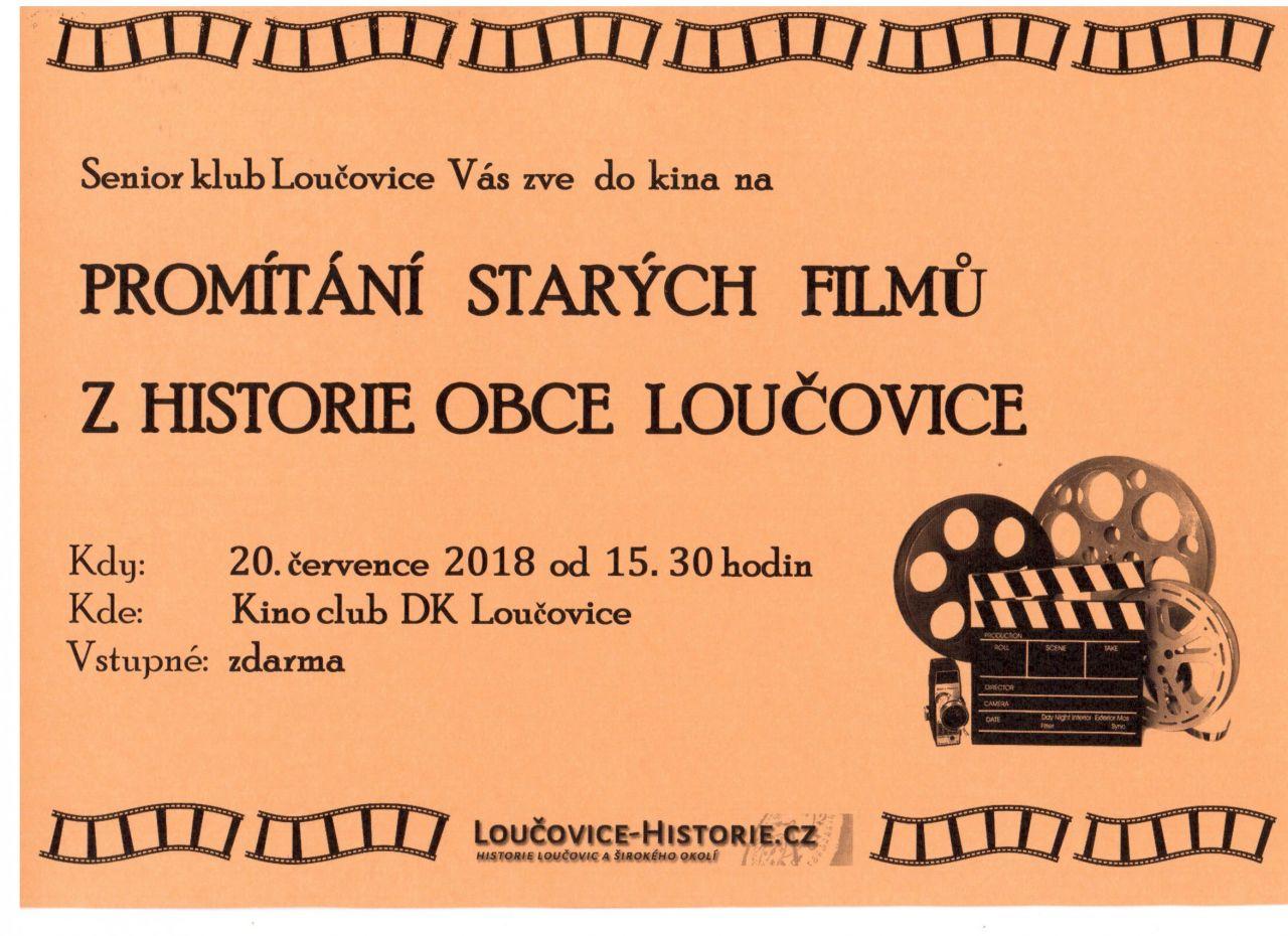 Plakát-Promítání starých filmů