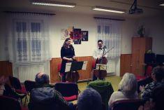 Koncert violoncellového dua v podání Veroniky Tůmové a Jana Tůmy